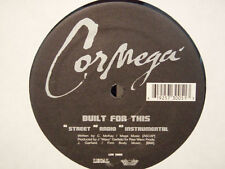 """CORMEGA - BUILT FOR THIS / THE TRUE MEANING (12"""")  2002!!!  RARE!!!  D.R. PERIOD"""