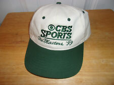 CBS Masters 1999 Golf Hat Cap NWOT Free Shipping!