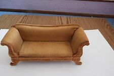 doll house Bespaq furniture  carved/hand painted victorian sofa 1.12