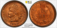 1896 1C Indian Head Cent PCGS MS 65 RD Uncirculated Red Secure Label Holder