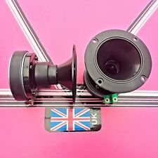 (pair) 100mm round dynamic horn tweeters disco speakers pa systems ect
