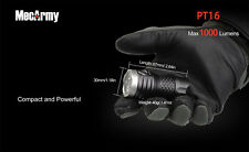 Mecarmy PT16 3x Cree XP-G2 USB Rechargeable LED 1000lm Flashlight