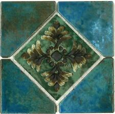 Fujiwa Porcelain glazed Swimming Pool Waterline Tile JOYA-502 ALBI 6 x 6 In.PAC8