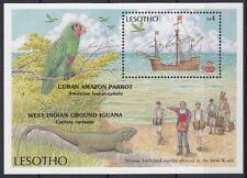 Lesotho 1987 Bf 50 500° anniversario scoperta dell'America Mnh