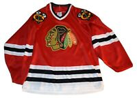 Chicago Blackhawks CCM NHL Men's Hockey Jersey Men's Medium M Maska Vintage