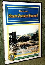 "cp031 DVD VIDEO ""OREGON STEAM OPERATED SAWMILL"" VIDEO TOUR"