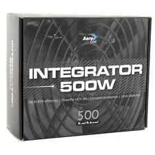 AeroCool Integrator 500W 85+ PC Gaming Power Supply 120mm Fan Active PFC PSU