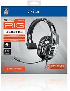 Plantronics RIG 100HS Mono Gaming Headset (Black) for Ps4