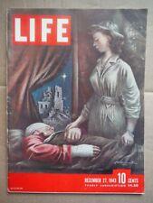 LIFE Magazine - December  27, 1943