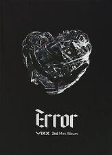 VIXX-ERROR 2nd Mini Album CD + Photobook+Photocard+Extra gift set K-POP Sealed