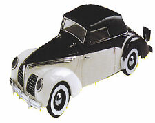 Kit pour miniature auto CCC : Rosengart supertraction cabriolet 1939