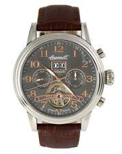 """Ingersoll Uhr """"San José"""" IN2001GU Automatik Limited Edelstahl Silber Braun"""