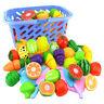 Simulación de alimentos Juego de cocina El corte de juguete Frutas hortalizas