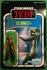 "Star Wars Return of the Jedi - Oola Jabba's Dancer - Vintage Style Custom 3.75"""