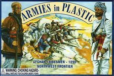 Armies in Plastic Northwest Frontier 1890 Afghan Tribesmen 1/32 Scale 54mm cream
