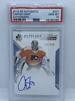 2018-19 Rookie Future Watch Carter Hart Sp Authentic Gem Mint Psa 10