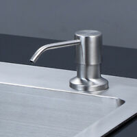 304 Stainless Steel Sink Liquid Soap Dispenser Pump Bottle For Kitchen Bathroom