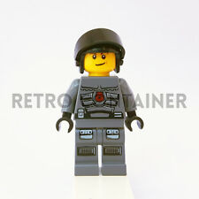 LEGO Minifigures - 1x sp106 - Space Police Officer - Omino Minifig Set 5974