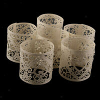 30pcs Heart Tea Light Candle Holders Flameless Candles Wrap Gift for Wedding