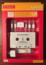 New Sealed! Audio Kit For iPod Shuffle Xtrememac w/ Car Charger