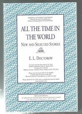 All the Time in the World by E. L. Doctorow ARC Uncorrected Proof PB