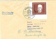 Ungeprüfte Briefmarken aus der BRD (1960-1969) mit Post- & Kommunikations-Motiv