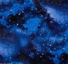 Galaxy Patchworkstoffe Stoffe Sterne Baumwollstoffe Sternenhimmel Patchwork Deko