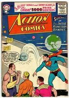 Action Comics #220 Late Golden Age Superman DC Comic 1956 GD+