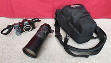 Sigma APO 170-500mm / 1:5 - 6:3 / APO Zoom Lens With SLR and Case - No Lens Cap