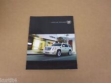2012 Cadillac Escalade ESV EXT Platinum Hybrid sales brochure dealer literature