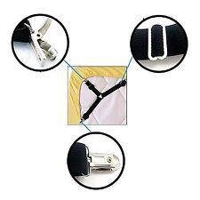 Adjustable Bed Sheet Clip Holder Grippers Fasteners Suspender Metal Clips