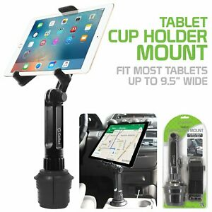 Cellet Tablet Cup Holder Mount, 360 Degree for Apple iPad Air Pro Mini Samsung.