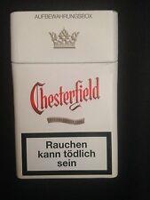 Chesterfield Zigaretten Etui Box Alublech