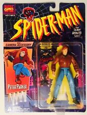 Spider-Man Animated Series Peter Parker With Camera Accessory ToyBiz Marvel MOC