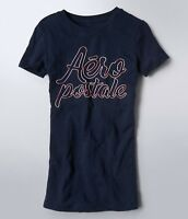 Aeropostale Women's Tee Shirt Color Embroidered Aeropostale