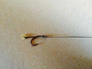 10 pellet band hair rigs bait band,carp course fishing hooks match,barbel