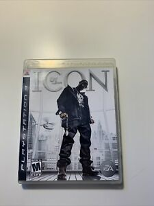 Def Jam: Icon PS3 CIB (Sony PlayStation 3, 2007) Complete + Free shipping