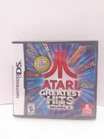 Atari Greatest Hits: Volume 2 (Nintendo DS, 2011) BRAND NEW FACTORY SEALED!