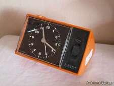 WECKER Vintage Original 70er Jahre orange KIENZLE Designer Uhr