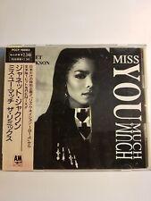 Janet Jackson /Miss You Much: The remixes Maxi single Japon avec OBI/ 13 TITRES