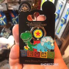 SHDR Disney Pin Toy Story Grand opening Rex Shanghai Disneyland Park