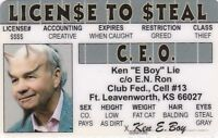 CEO - Drivers License - for Executive Company Heads - Ft Leavenworth Texas TX