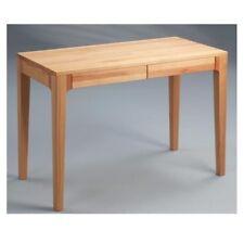 Schreibtisch Kona Kernbuche massiv geölt Schubladen Schminktisch Sekretär Tisch