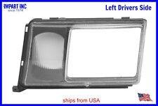 Mercedes W124 HeadLight Door Cover Fog Lamp Lens Drivers Side 000 826 05 59