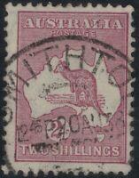 2/ Kangaroo CofA WMK roo NSW POSTMARK *SMITHTOWN *UNLISTED FLAW * SHADING OVER R