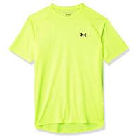 Under Armour Tech 2.0 Mens Short Sleeve Training T-Shirt Tee Yellow - L