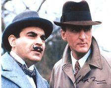 Hugh Fraser Signed Photo - Poirot - A511