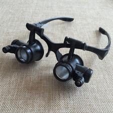 10X 15X 20X 25X Watch Repair Dental Loupes Binocular Magnifying Glass