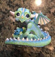 Franklin Mint Gloomy Mood Dragon Figurine Numbered Limited Edition Swarovski