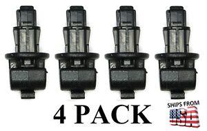 Sun Shade Hook Clip Kit (4 pack) Fits Honda Odyssey 2005-2010 Sliding Door Black